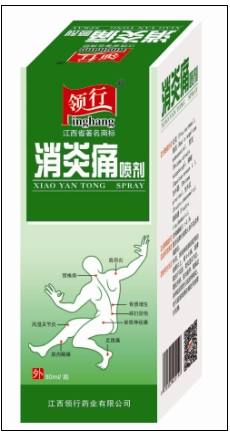 消炎痛喷剂
